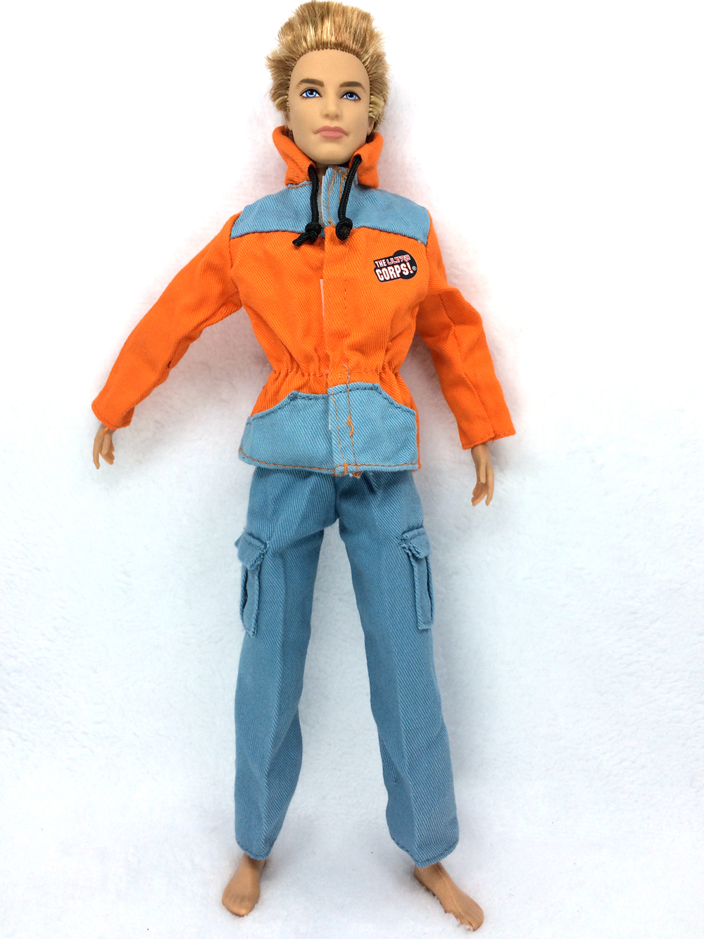 NK Original Prince Clothes Combat Police Uniform Cop Outfit For Barbie Boy Male Ken Doll For Lanard  1/6 Soldier  Best Gift 015A<br><br>Aliexpress