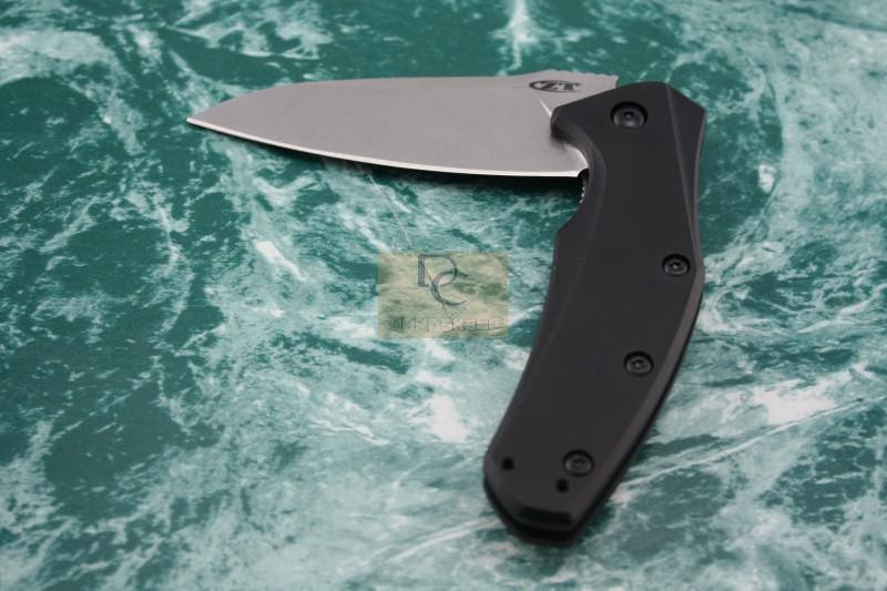 New Zero Tolerance Rexford ZT0770 flip ELMAX blade folding knife aluminum handle outdoor camping tactical pocket