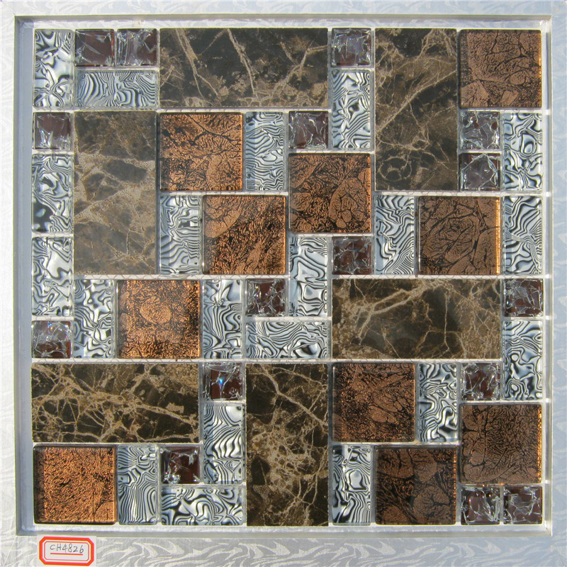 new 2015 kitchen backsplash tiles glass mosaic with marble