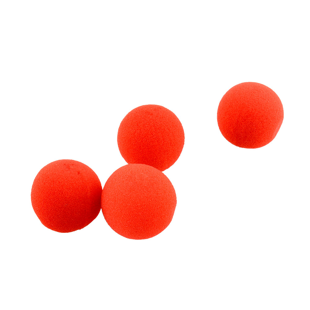 Close-Up Magic Street Comedy Trick Soft Red Sponge Ball Props Clown Magic Nose For Halloween Ball*Free-Shipping<br><br>Aliexpress