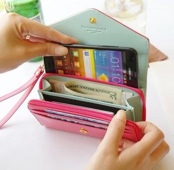 Uniwersalne etui do telefonu max 5,5″ | Portfel dla kobiety