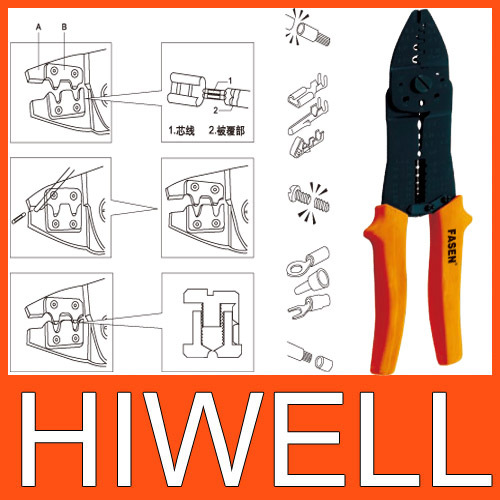 Japanese multifunctional crimping pliers high quality , for cutting, stripping wires More,authentic(China (Mainland))