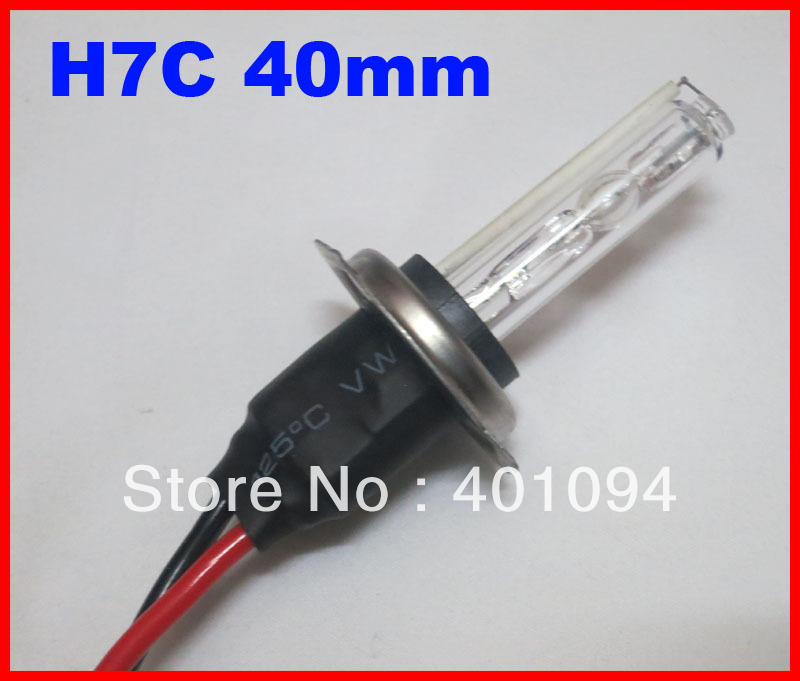 5 PAIRS 35W H7C Metal Base(Chassis Holding) HID Xenon AC Replacement Bulbs Headlights 40mm Shorter 4.3K 6K 8K 10K 12K 12V DHL(China (Mainland))
