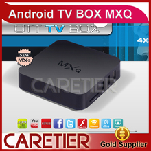 2015 MXQ TV BOX Amlogic S805 Quad Core Android 4.4 Kitkat 1GB 8GB XBMC Kodi 14.0 Addons Load WIFI Airplay Miracast 3D 50pcs(China (Mainland))