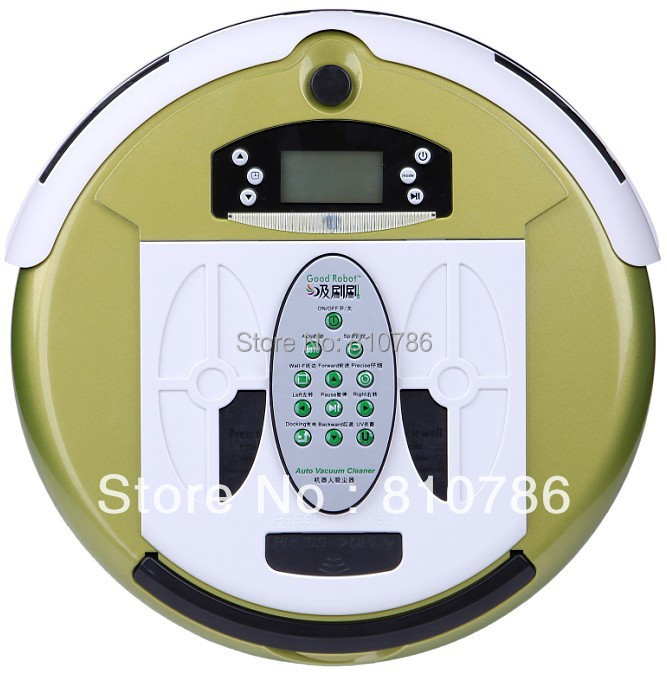 ( Free EMS to Russian)Robot House Room Vacuum Cleaner, Multifunctional(Vacuum,Sterilize,Mop,Flavor),Virtual Wall,Schedule(China (Mainland))