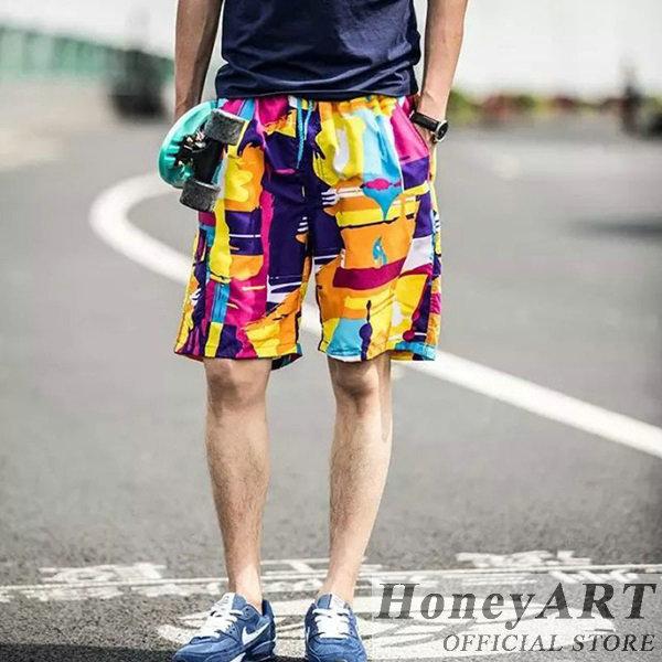 Men summer polo swim trunks bermuda fox board shorts FF436(China (Mainland))