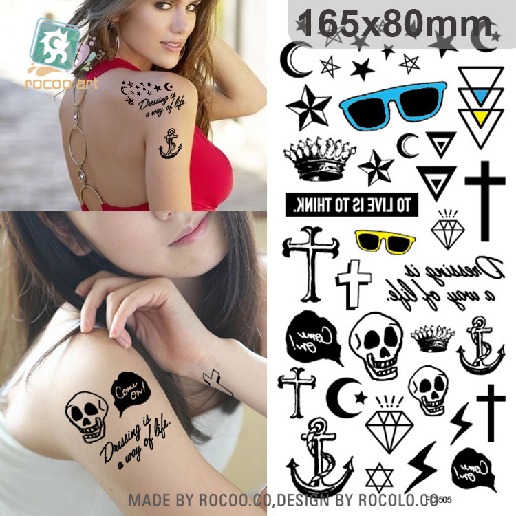 customized good quality many lovely picture Temporary Tattoo Sticker free shipping fc-505 for sexy pretty girl arm(China (Mainland))