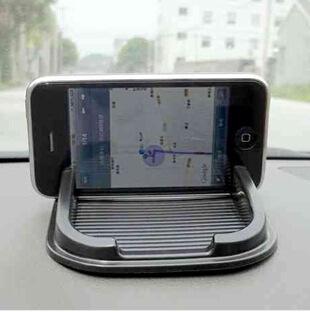 Black Car Dashboard Sticky Pad Mat Anti Non Slip Gadget Mobile Phone GPS Holder Interior Items