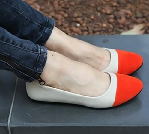 2014spring Fashion Star Style Flat Heel Female Shoes Casual Women Shoes Round Toe Sweet Flats Luxury Brand Big Plus size 35--40<br><br>Aliexpress