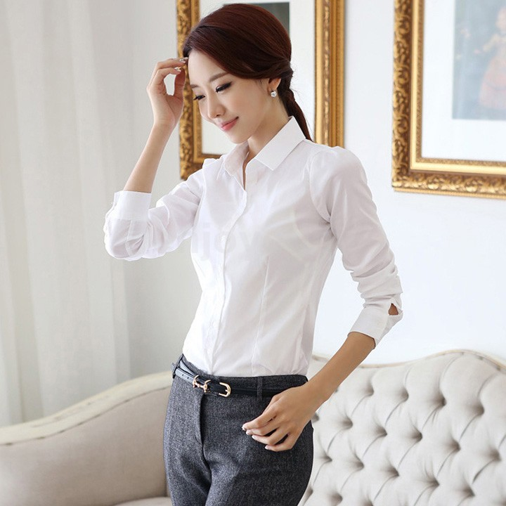 Amazing Com  Buy New Spring White Blouse Women Shirts Lace Long Sleeve