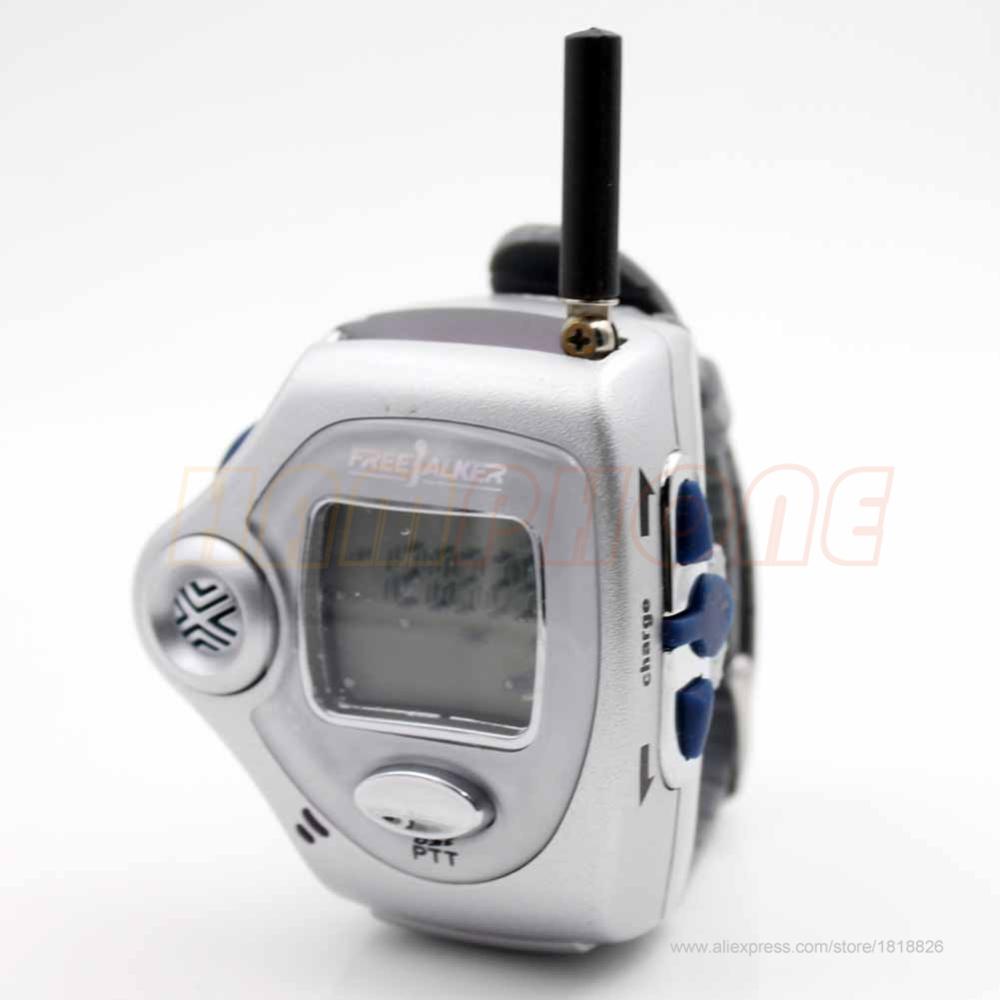 2 Pair Digital Wrist Watch Freetalker RD-820 Walkie Talkie Ham Radio Interphone 2-Way Radio With VOX Operation(China (Mainland))