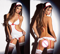 1set Sexy Costume Nurse Sexy Lingerie Hot Women Lingerie Role playing Costume Erotic Doll Tenue Sexy