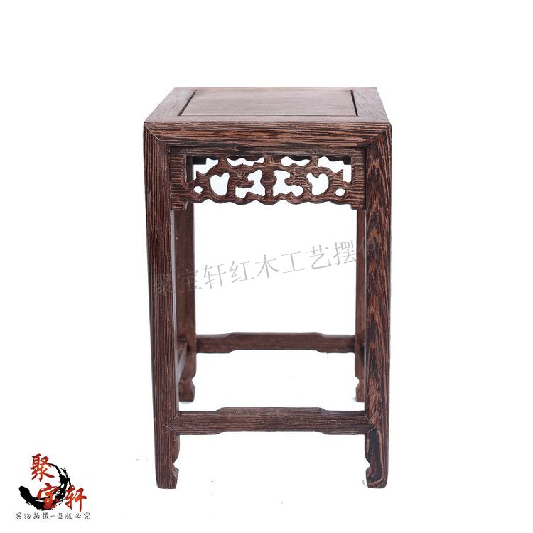 Household act the role ofing is tasted chicken wings wood square table of Buddha vase flowerpot aquarium handicraft base(China (Mainland))