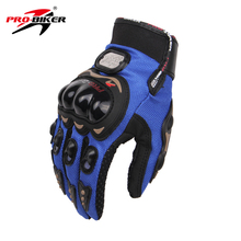 PRO-BIKER Full Finger Motorcycle Airsoftsports Riding Racing Tactical Gloves Auto Engine Protection Cycling Sport Gloves MCS-01C(China (Mainland))