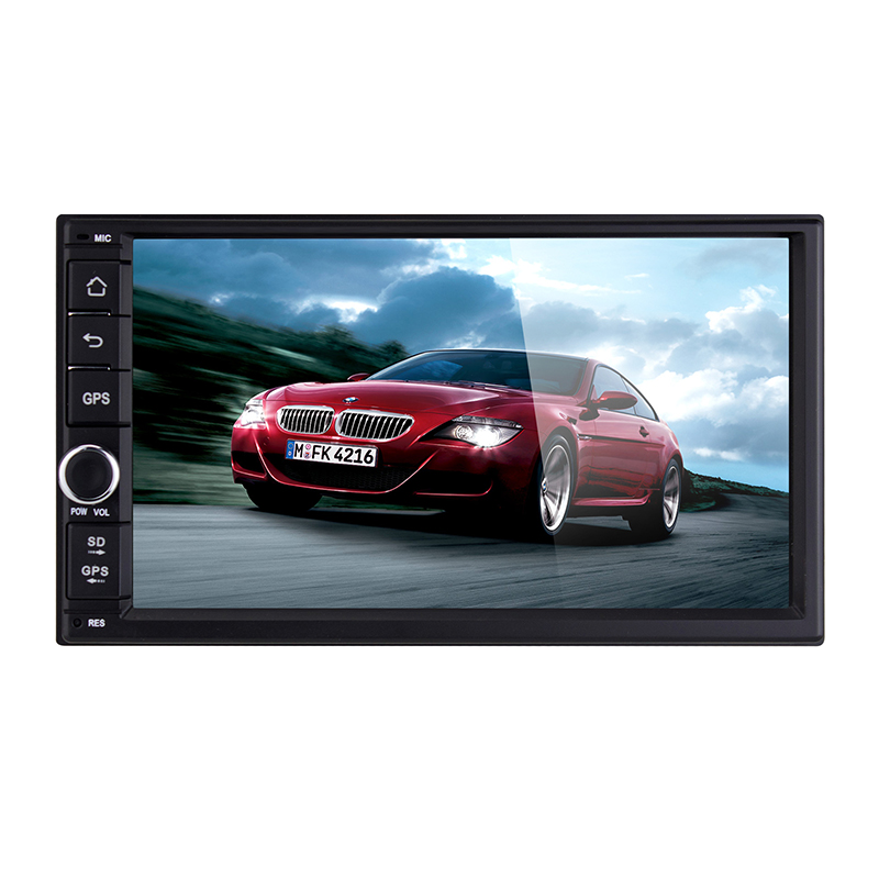 7 inch HD Touch Screen android 4.4 system Universal Car general machine GPS Navigation With bluetooth radio tuner(China (Mainland))