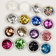17colors  DIY Pure diamond sequins Jewelry Designed for very shiny nail design Very shiny FREE SHIPPING(China (Mainland))