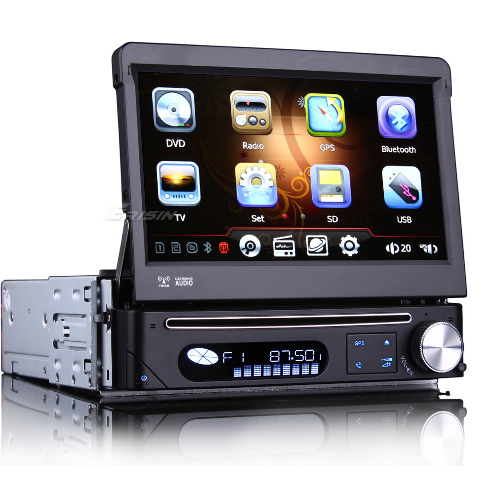 7 one din touch screen car dvd car radio single din car. Black Bedroom Furniture Sets. Home Design Ideas