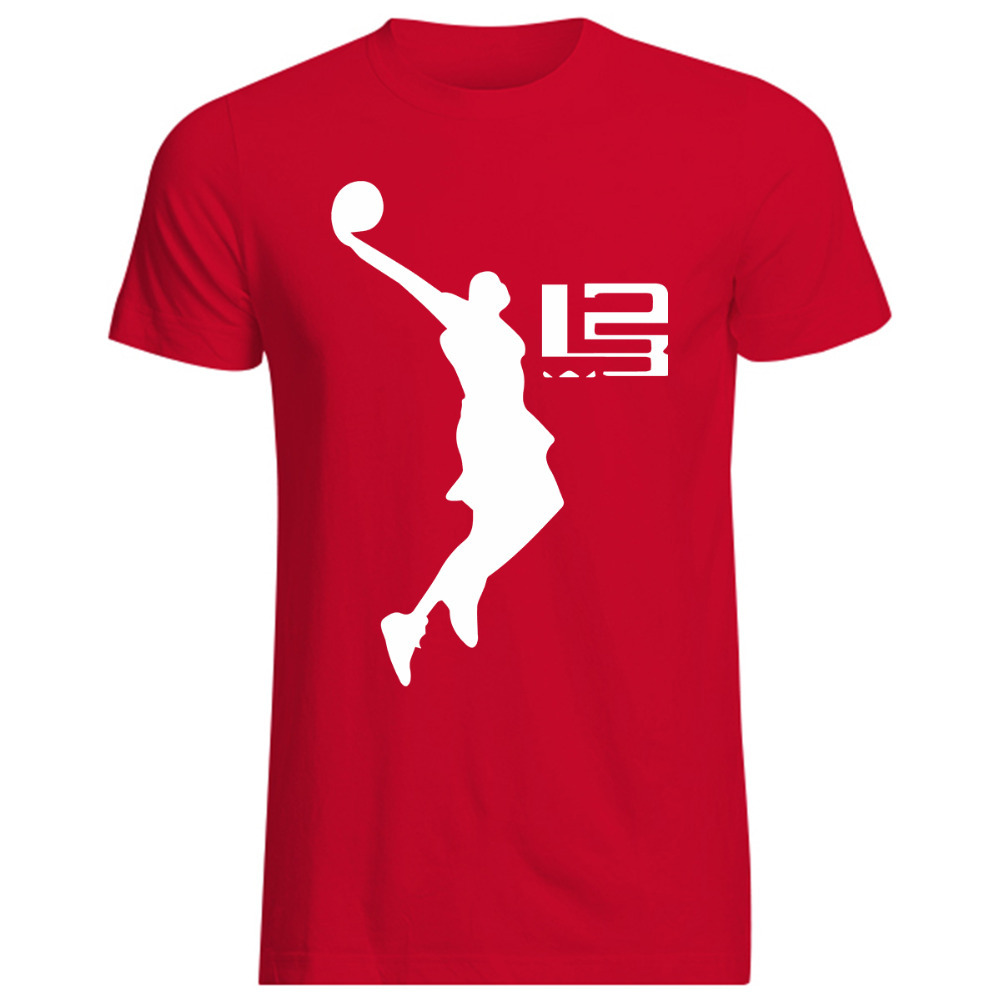 Free Shipping A Lovers Sport Man T Shirt Lebron James T