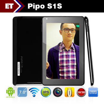 7 Inch PiPo S1 S1s RK3066 Dual Core 1.6GHz IPS Screen Andriod 4.2 Tablet PC 1GB 8GB Camera Wifi