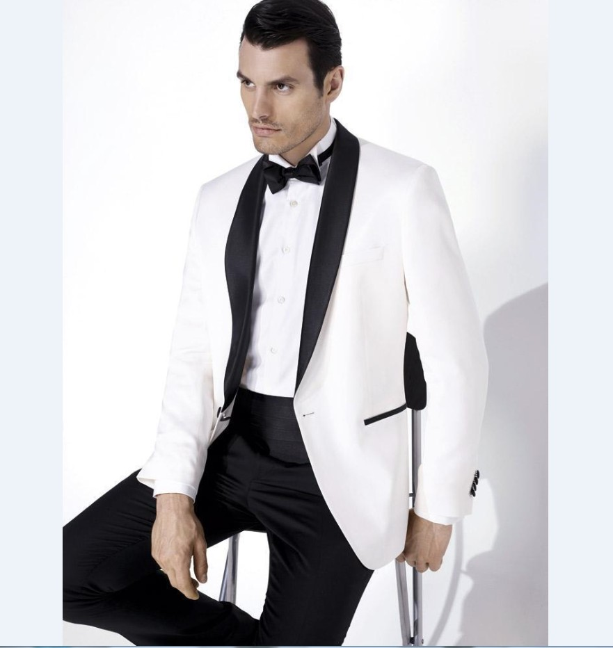 White Jacket Black Pants Promotion-Shop for Promotional White ...