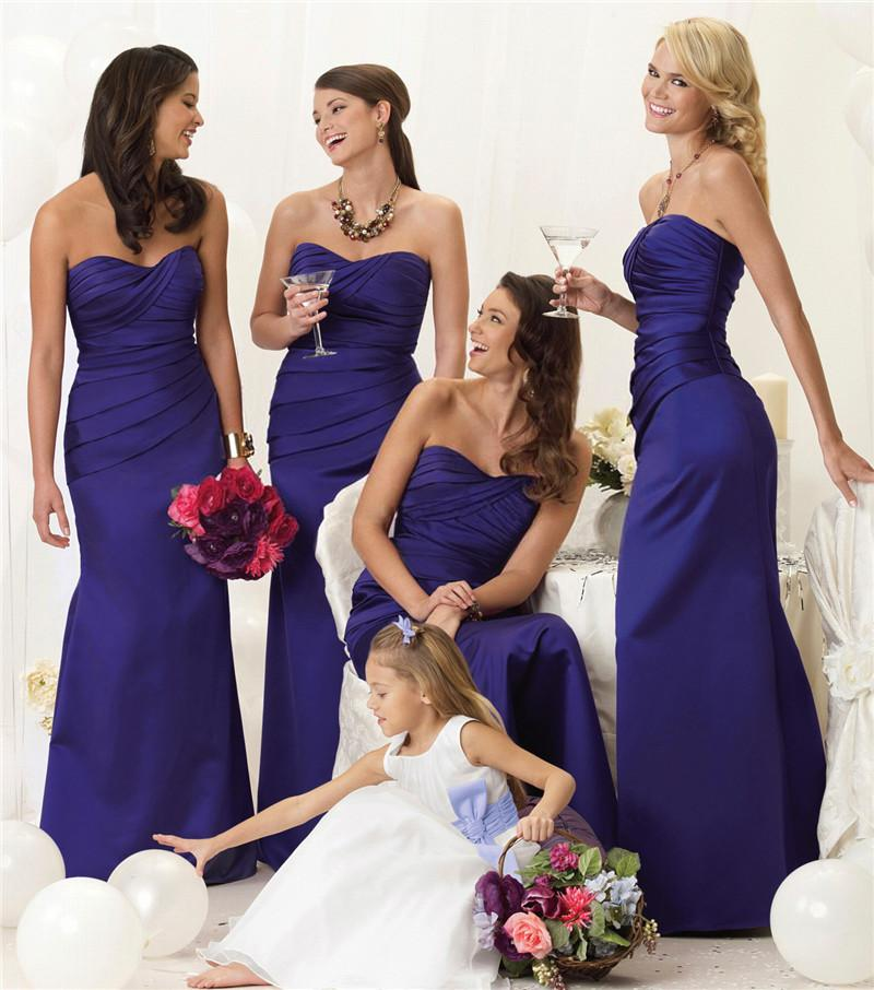 Royal Purple Bridesmaid Dresses Promotion-Online Shopping for ...