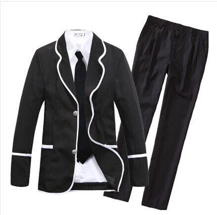 Наша школьная форма корейский люкс-класса обслуживания мужчин и женщин хора костюмы корейский униформа сделано в Англии