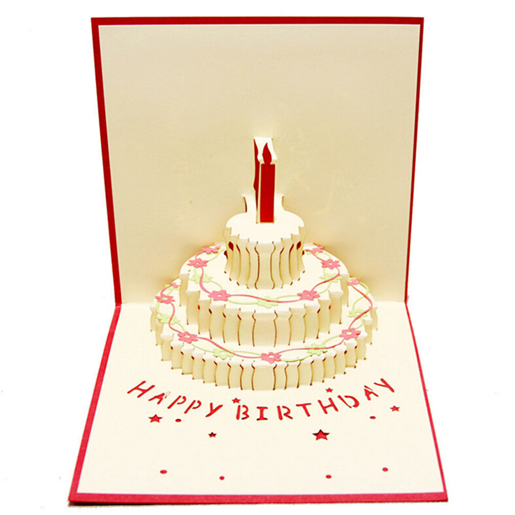 Online buy wholesale birthday card design from china for Christmas card 3d designs