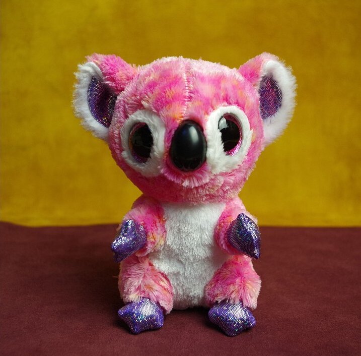 "TY BEANIE BOOS -6"" PINK THE KOALA BEAR~RARE~Brand New(China (Mainland))"