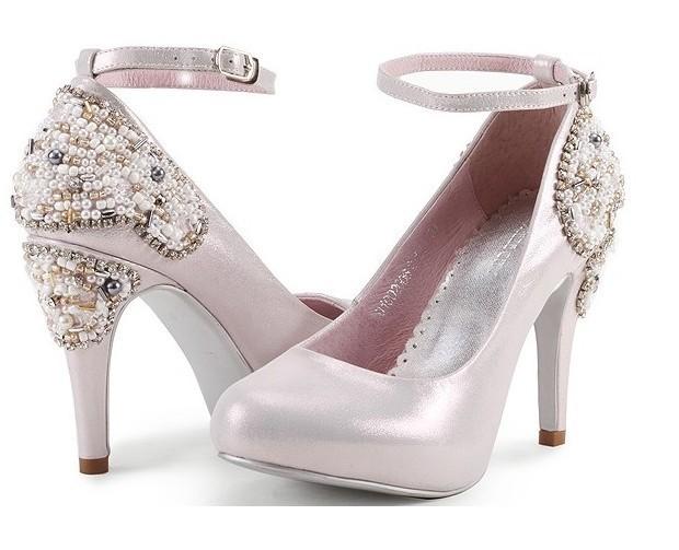Фотография Popular Formal Shoes Pink Color Women