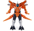 hot sale Dinosaur Transformation Toys Plastic Robot Action Figure dinosaur Toy Model Gifts For children free