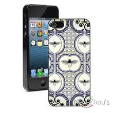 Bee Pattern Protector back skins mobile cellphone cases for iphone 4/4s 5/5s 5c SE 6/6s plus ipod touch 4/5/6