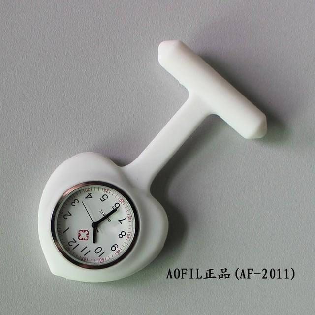 Heart silica gel nurse table nurse pocket watch pocket watch table battery