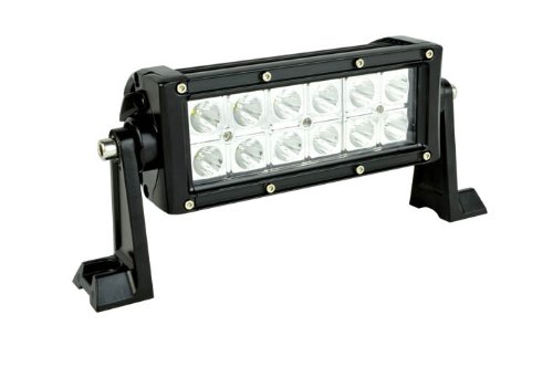 Hot sales New 7.5inch 36W CREE LED Work Light Bar 2640lm Flood Beam 4x4 4WD SUV Offroad Lamp(China (Mainland))