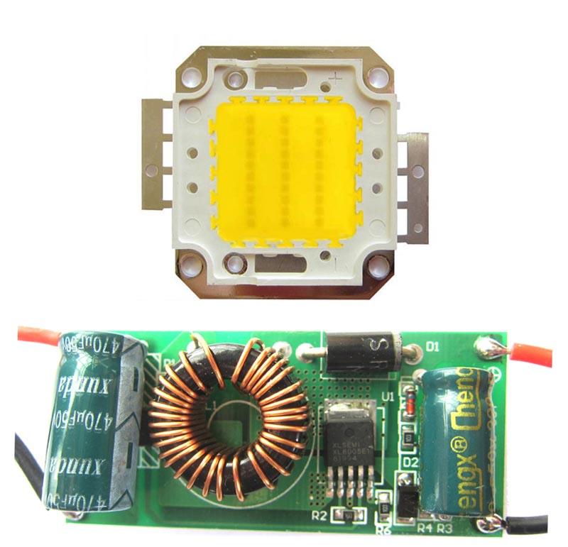 30W Warm White 3500K SMD LED Light Bulb Lamp Parts With AC 85~265V LED Driver Supply(China (Mainland))