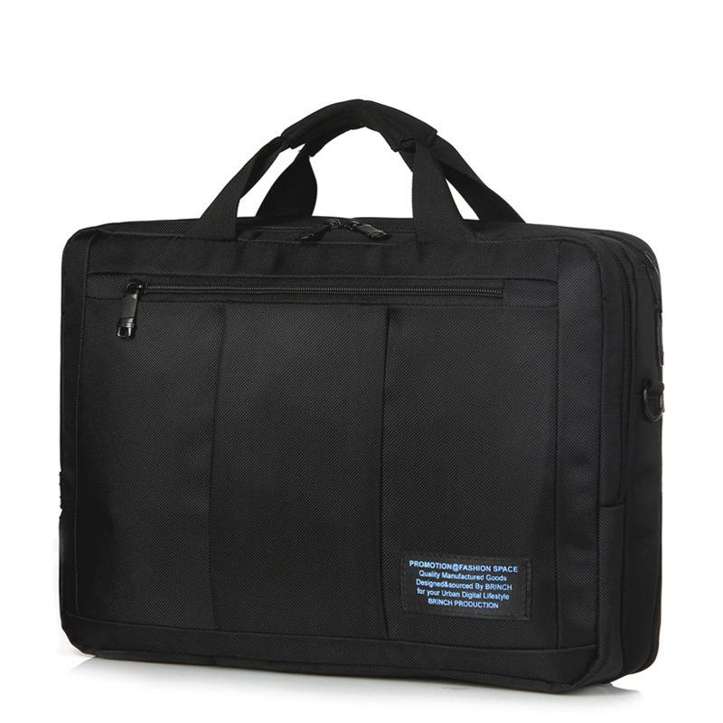Laptop Bag 15.6 Multi-use Business Handbag For Macbook Case Unisex Portable Maletin Portatil Anti-shock Shoulder Laptop Bag 15.6(China (Mainland))