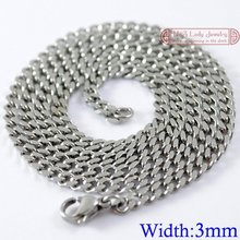 stainless steel necklace promotion