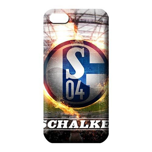 Eco Package Shockproof trendy phone carrying cases Schalke 04 FC soccer club logo for iphone 4 / 4s case 2015 new(China (Mainland))