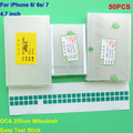 50PCS Lot 250um OCA adhesive for iPhone 6G 4 7 Mit for formitsu film for repair