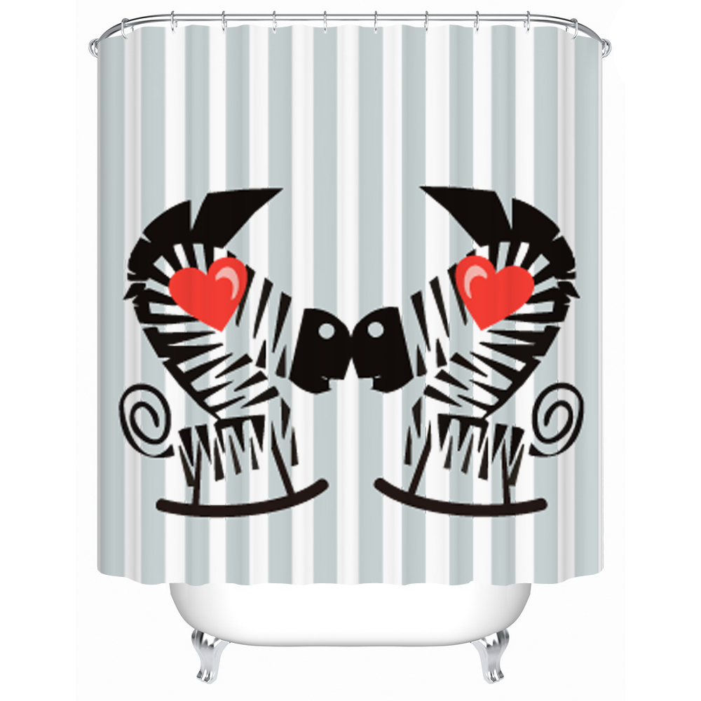 Online kaufen gro handel cool bathroom shower curtains aus for Coole duschvorha nge