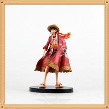 Anime One Piece Monkey D Luffy Figure Grandline Lady 15th Anniversary PVC Action Figure Model Toy 17CM