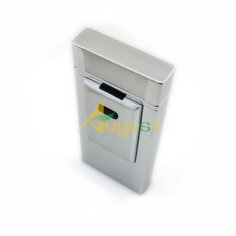 ถูก 5ชิ้น/ล็อตของที่ระลึกขายร้อน2016ใหม่เสือWindproofโลหะบางเฉียบชีพจรชาร์จUSBบุหรี่อิเล็กทรอนิกส์เบา