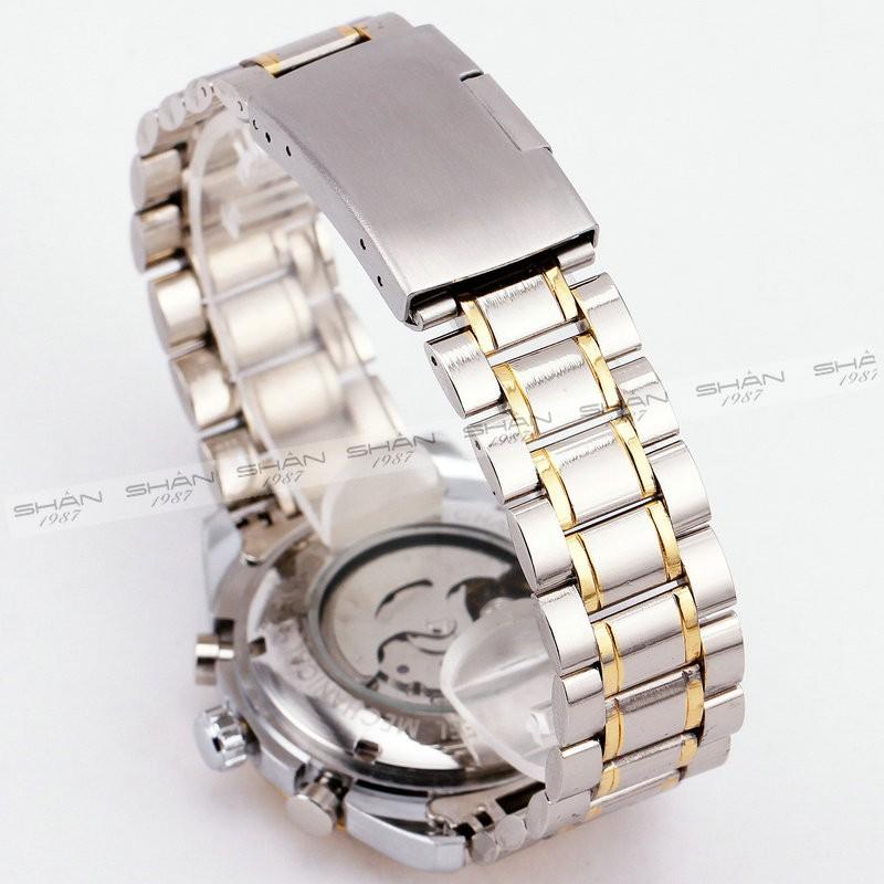 ПОБЕДИТЕЛЬ Мужчины Classic Механические Наручные Часы Из Нержавеющей стали Ремешок Циферблат Круглый Высокое Качество Суб-238