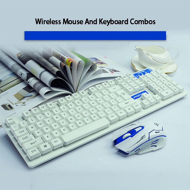 Fashion 2.4G 10M Wireless Keyboard and Mouse Combo New Computer Accessories For Laptop PC Windows Tv Box Home Office Game
