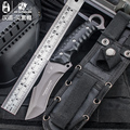 HX OUTDOORS Survival knife outdoor hunting tools high hardness straight brand army knives for self defense