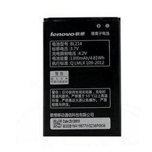 1PCS Free Shipping 1300mAh BL214 Battery for Lenovo A208t A218t A269 A305E A269I A316 A300T A360e Mobile Phone +Tracking Number