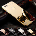 Slim Aluminum Mobile Case Sliver For Apple Iphone 6S Phone Cases Mirror Case Phone Back Cover