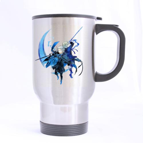 Cool Pandora Hearts Custom Design Drinkware Silver Travel Mug Sports Bottle Coffee Mugs Office Home Cup 14 OZ Two Sides Printed(China (Mainland))