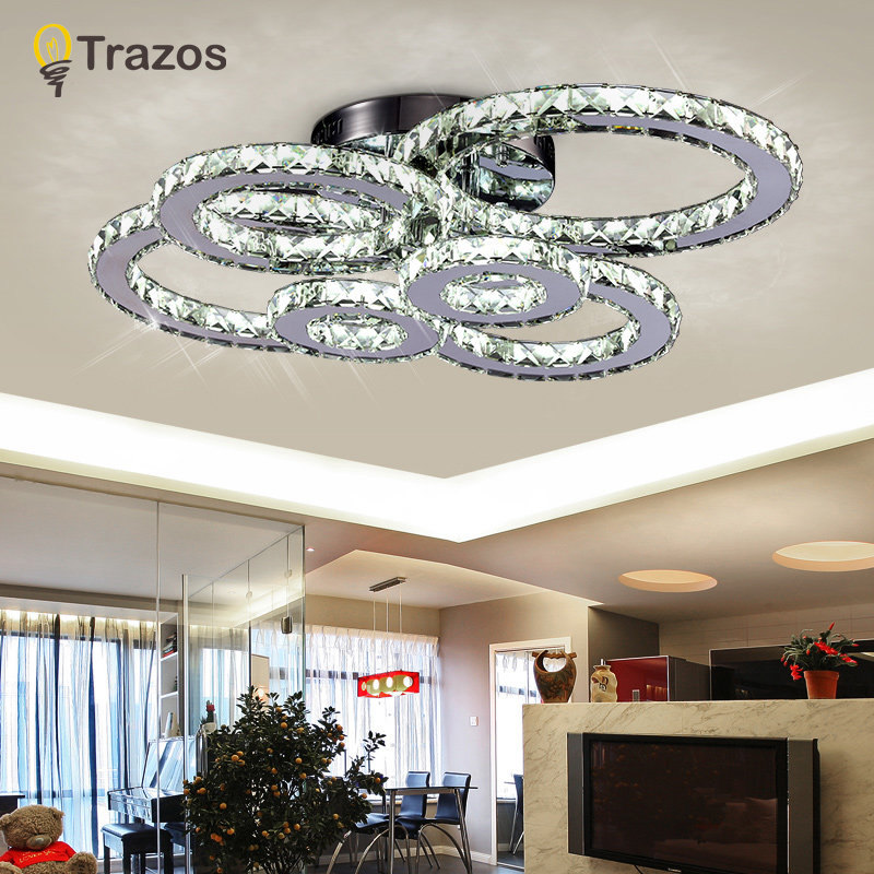 Modern LED Crystal Ceiling Lights For Living Room luminarias para sala plafon Ceiling Lamp Fixture For Bedroom Lamparas De Techo(China (Mainland))