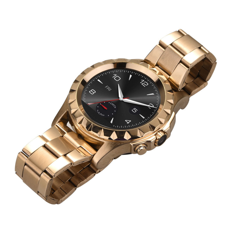 Excellent Quality Top Brand Men's Luxury Full Stainless Steel Bluetooth Waterproof Wrist Watches for Cell Phone + Charging(China (Mainland))