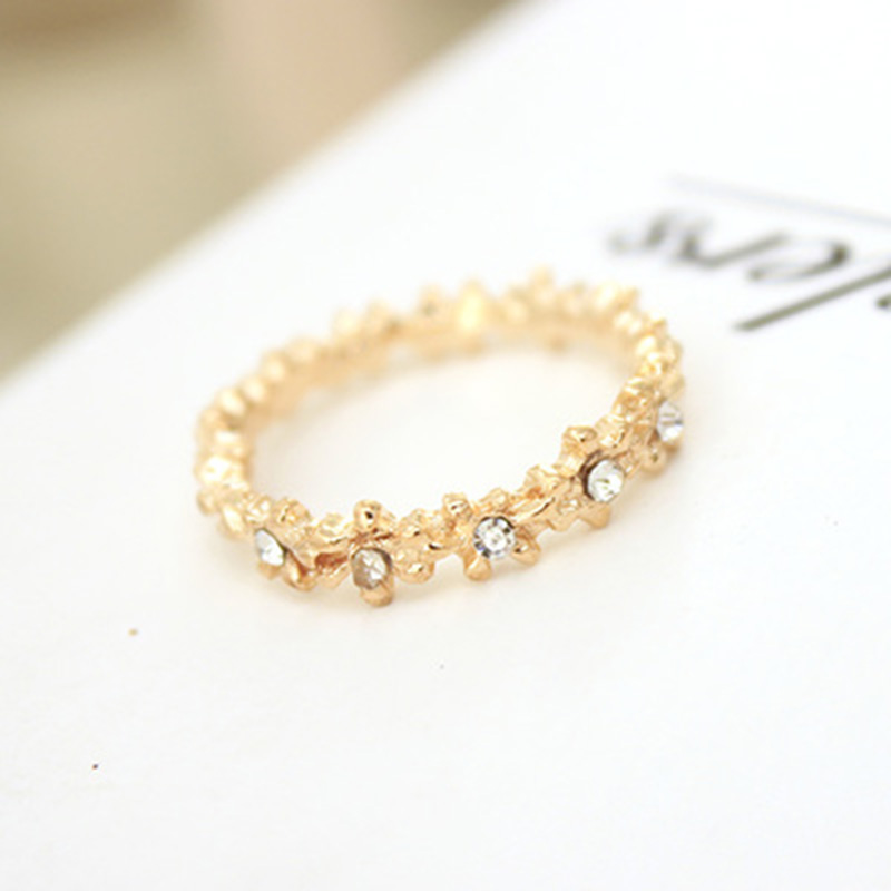 Comfortable Very Simple Gold Ring For Girls Gallery - Jewelry ...